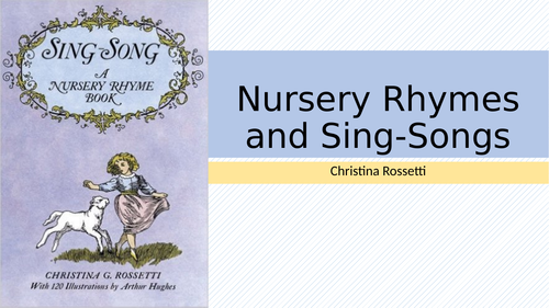 Christina Rossetti:Nursery Rhymes