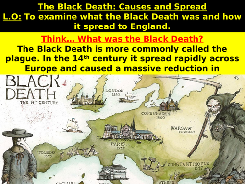 The Black Death: Causes and Spread