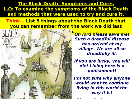The Black Death: Symptoms and Cures