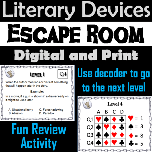 Literary Devices By Sciencespot Teaching Resources Tes