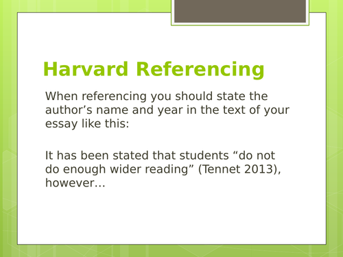 Student Guide to Referencing for A Level Literature NEA Coursework