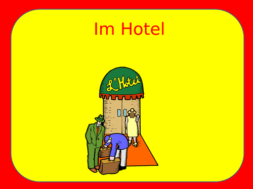 Im Hotel / Urlaub / Accommodation / Holidays