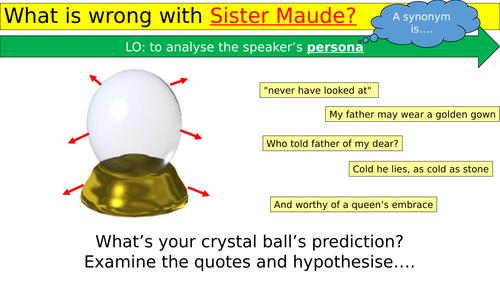 Sister Maude - Unseen Poem