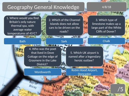 Geography - Teaching Resources - TES