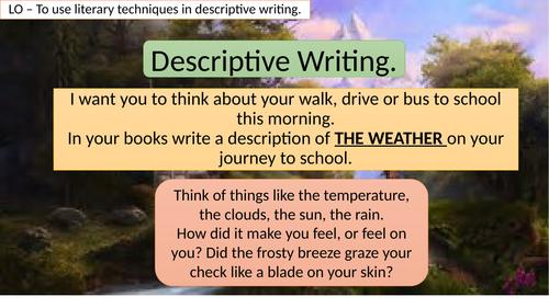 Fairytale Descriptive Writing