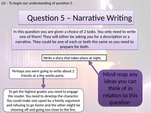 LANG PAPER 1 - QUESTION 5