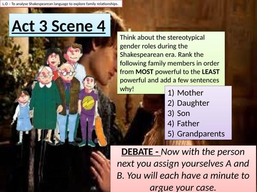 ROMEO AND JULIET - ACT 3 SCENE 4