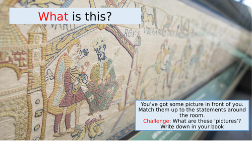 Lesson 7: Can I create my own Bayeux Tapestry?