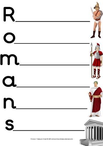 Year 4 Romans bulk