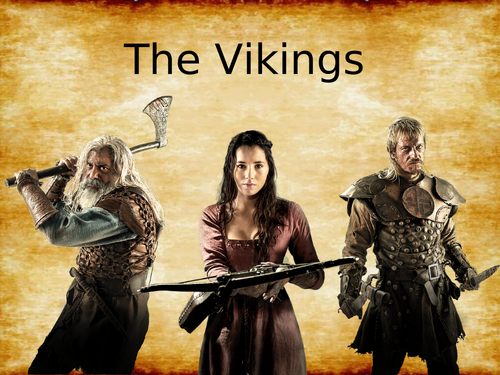 The Vikings -  A series of LKS2 lessons