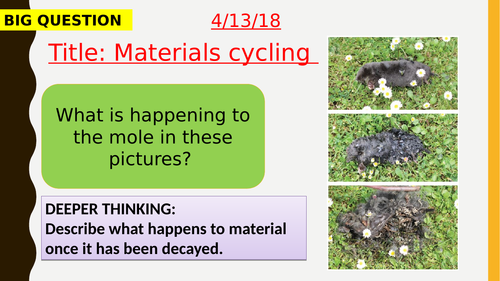 AQA new specification-Material cycling-B17.2