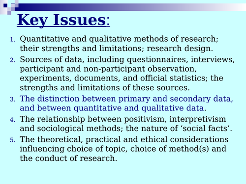GCSE Sociology - Research Methods - Reliability and Validity - Lesson 1