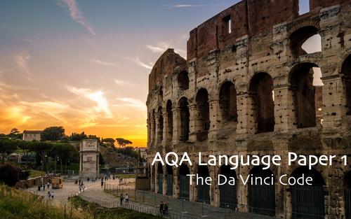AQA GCSE Language Paper 1 Section A New Spec- The Da Vinci Code Extract