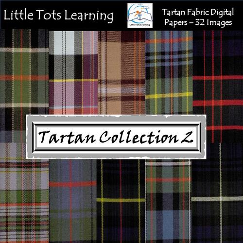 Tartan Plaid Digital Papers - Tartan Backgrounds - Collection 2