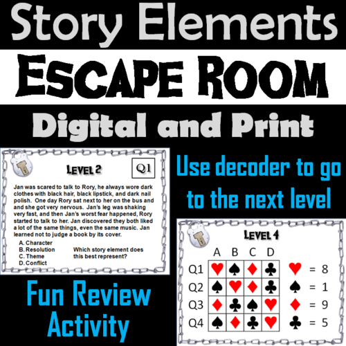 Escape Room Parents Guide