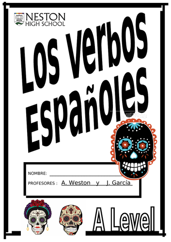 SPANISH A LEVEL ALL TENSES info and activity booklet.