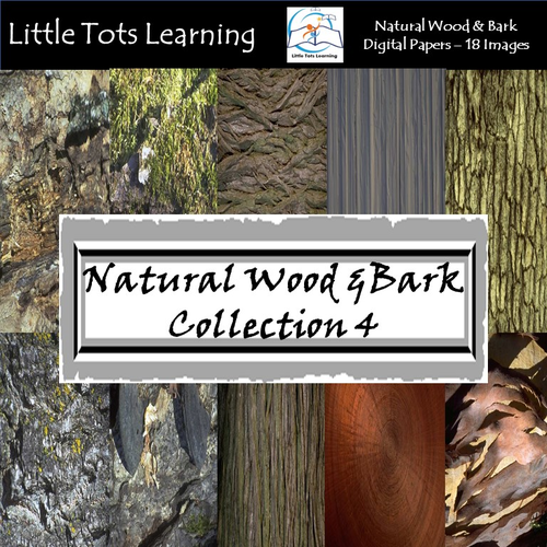 Tree Bark Digital Paper - Wood Textures - Wood Backgrounds