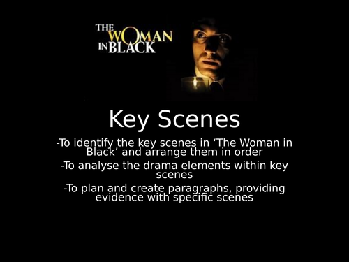 OCR GCSE Section B The Woman in Black Key Moments