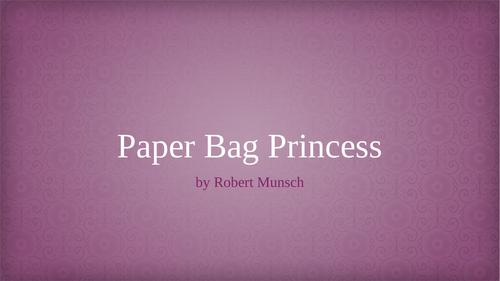 Paper Bag Princess (Drama SOW)