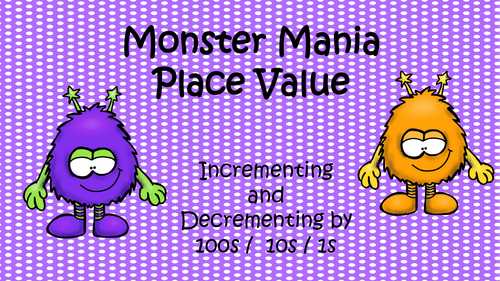 Monster Mania Place Value