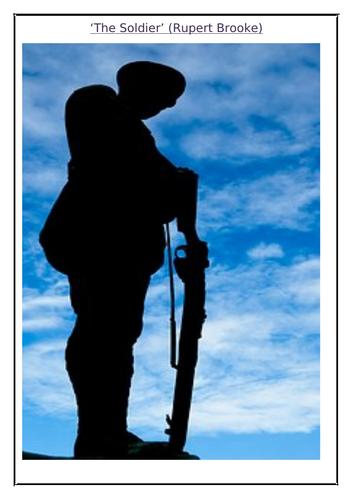 'The Soldier' Poem (Rupert Brooke) Comprehension Questions