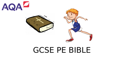 AQA GCSE PE Revision Booklet 2016 spec