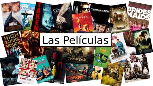 KS3 Spanish: Las Películas