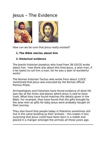 Jesus - The Evidence