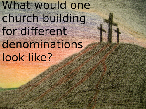 Ecumenical Church design task