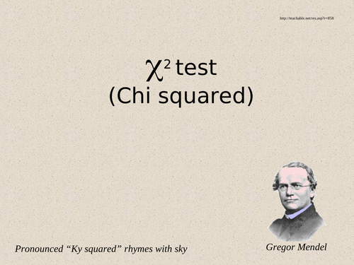 Dihybrid crosses, Chi-squared and Mendel