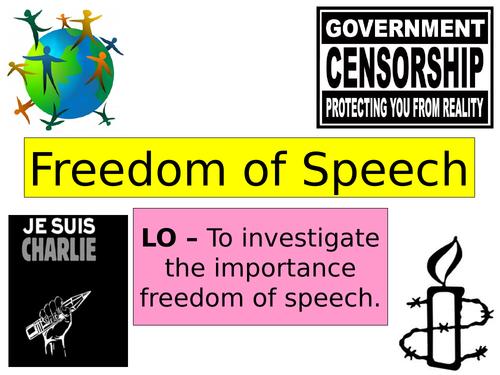 PSHE Freedom of Speech lesson