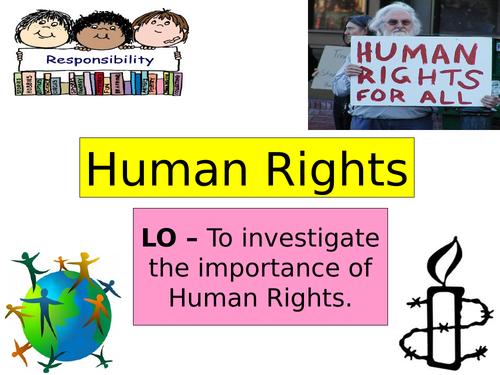 PSHE Human Rights
