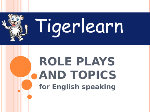 Pair role plays and speaking topics for ESL EAL EFL English learners for  practice or competition