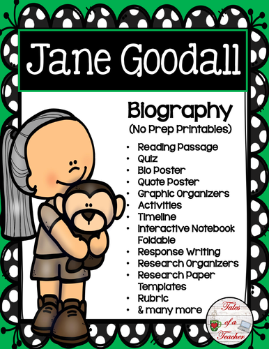 Jane Goodall Biography