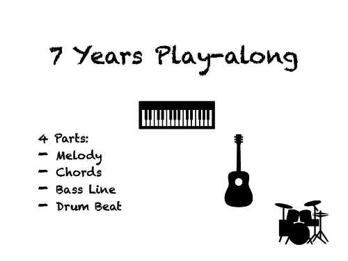 Preschool composing, performing and listening skills resources