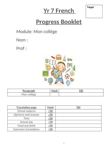 Mon college - studio 1 module 2 workbook