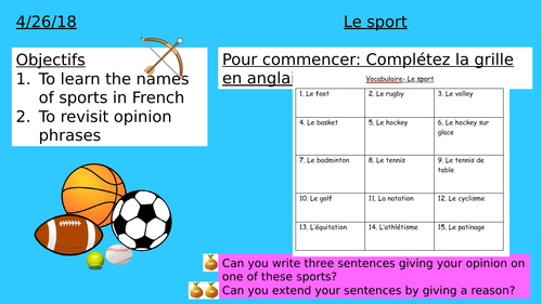 Year 7/8 Introduction to sports