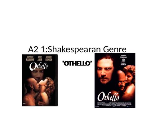 Othello A2 Assessmnet objectives