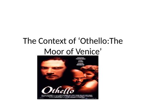 Othello context powerpoint A2