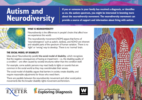 Autism and Neurodiversity- information leaflet