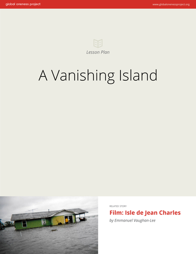 A Vanishing Island: Lesson Plan & Film