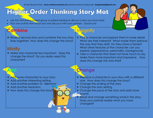 Higher Order Thinking Story Mat