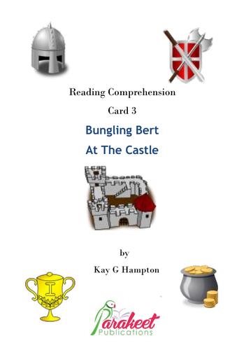 Bungling Bert Castle Comprehension Card