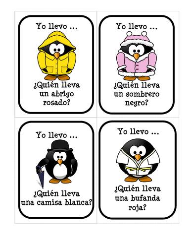 La ropa (Los disfraces de Pingu) - Paquete de recursos