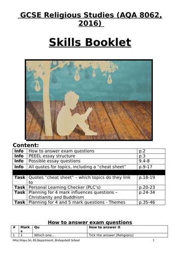 AQA GCSE RS - Skills Booklet