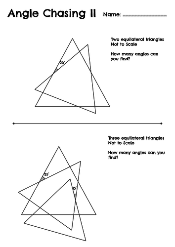 Angle Chasing II - Polygons and Parallel Lines