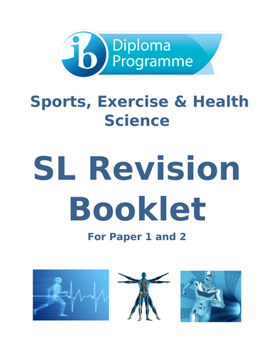 IB DP Sports Exercise and Health Science SL Revision Book for Paper 1 & 2