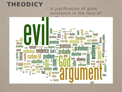 The Problem of Evil: for OCR A2 Philosophy of Religion, Religious Studies