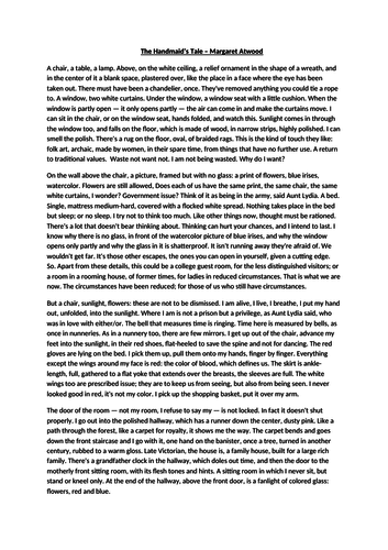 DYSTOPIA - THE HANDMAID'S TALE (KS3 7,8,9)