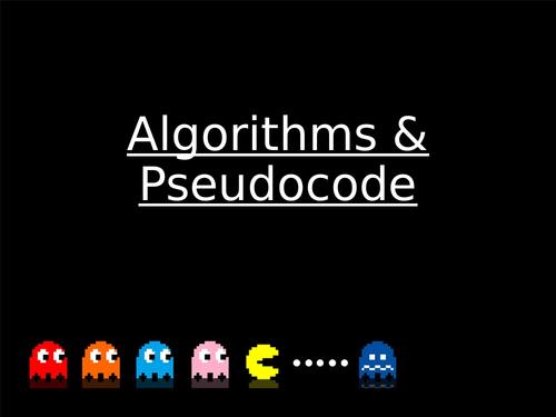 OCR Computer Science - Computer Science PseudoCode 9-1 1-9